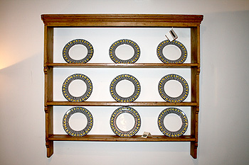 English plate rack & English plate rack | Ballindullagh Barns Antiques | Antique Pine ...
